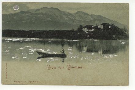 Allemagne - Gruss Vom Ghiemsee - Chiemgauer Alpen