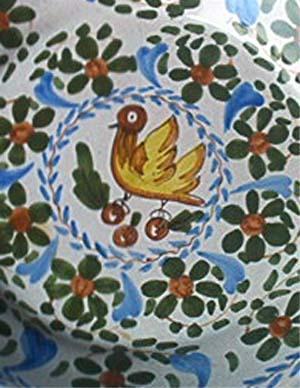 Manises - Assiette Oiseau - Sierbord - Wallplate Bird - AS78 - Manises (ESP)