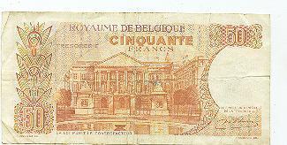 Billet De Belgique 50 Fr - Belgium