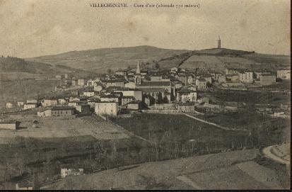 "Carte Postale ""VILLECHENEVE"" (69) - France"