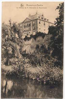 Bomal-sur-Ourthe - Le Château De M Braconier De Hemricourt - Durbuy