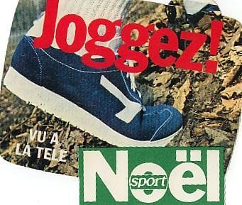 Autocollant   SPORT NOEL   JOGGER! - Magnets