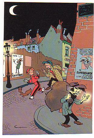 Trésors Du Journal De Spirou SPIROU éditions Dupuis 1985 Carte Postale N°19 - Ansichtskarten