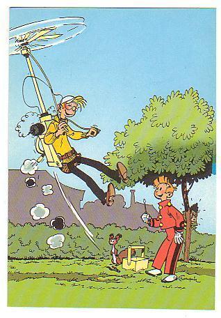 Trésors Du Journal De Spirou SPIROU éditions Dupuis 1985 Carte Postale N°20 - Ansichtskarten