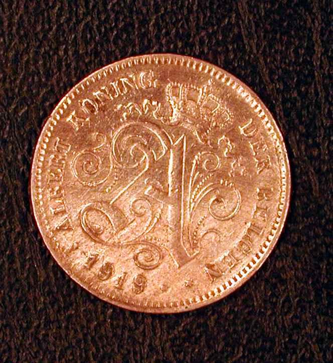 Belgique 2Cts 1919 Vl - 1909-1934: Albert I