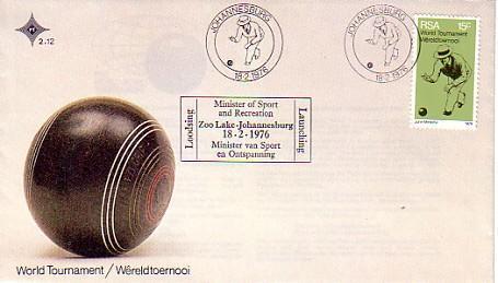 RSA - 1976  SPORT   FDC - Francobolli
