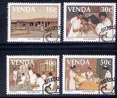 VENDA 1988 CTO Stamp(s) Nurses Training 175-178 #3484 - Health