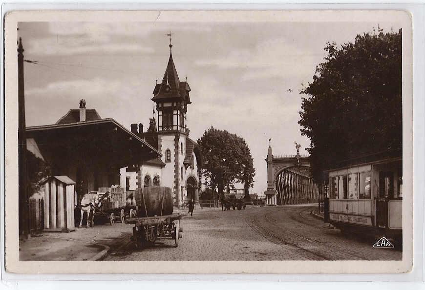La DOUANE Au Pont De Kehl STRASBOURG - Aduana