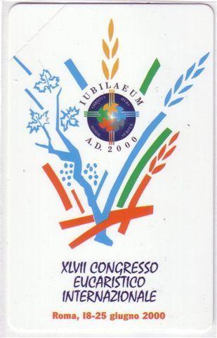 VATICAN SCV 72 - Congresso Eucaristico Internazionale ( Mint Card ) - Vatican