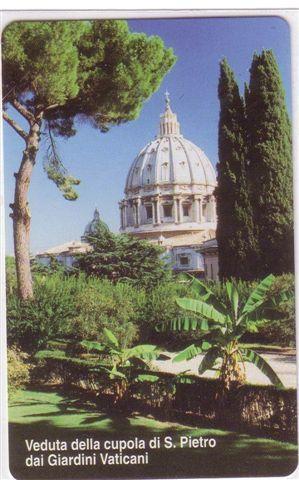 VATICAN SCV 89 - Giardini Vaticani  ( Mint Card )  **  Religion - Church - Eglise - Vatican