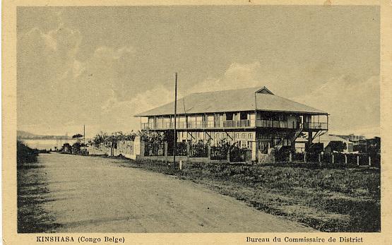 Congo Belge Kinshasa Bureau Du Commissaire Du District Peter Freres - Kinshasa - Léopoldville