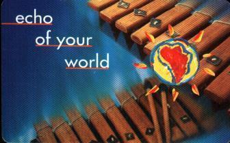 "RSA Used Telephonecard ""Echo Of The World"" Code Tgaj.1 - South Africa"