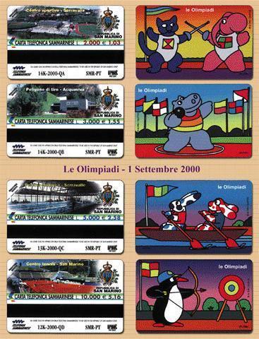 SAN MARINO OLIMPIADI ** CATALOGUE GOLDEN 2004 S NR. 53/56 EURO 20.00 - Saint-Marin
