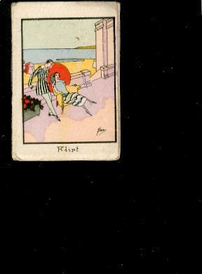 Mini-calendrier Livret 1931 Illustré Par Jam Aux Fruits De Nice Flirt D3 - Calendari
