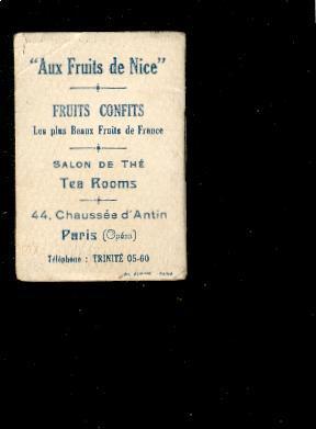 Mini-calendrier Livret 1931 Illustré Par Jam Aux Fruits De Nice Flirt D3 - Klein Formaat: 1921-40