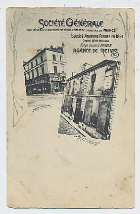 Société Générale : Agence De REIMS 18,rue Courmeaux ( Anct Rue De Monsieur ) - Reims