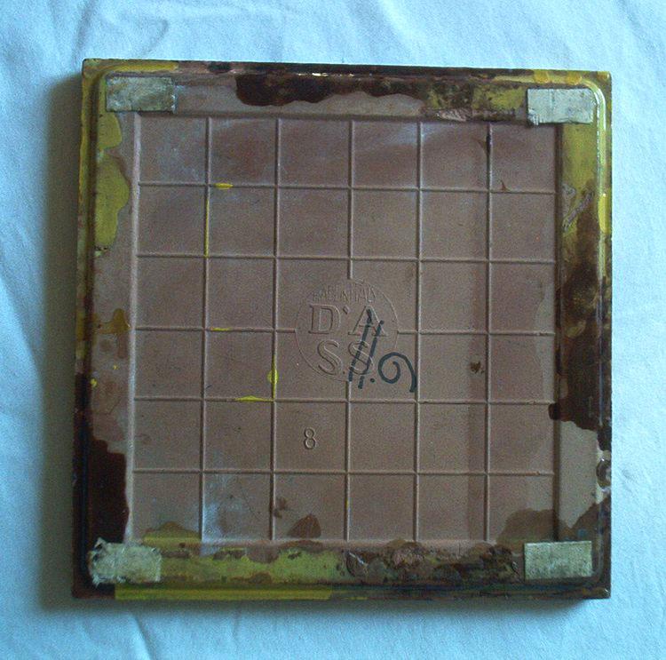 Carreau/sous Plat Italien - Italiaanse Tegel/onderzetter - Italian Tile - DI 718 - Ceramica & Terraglie