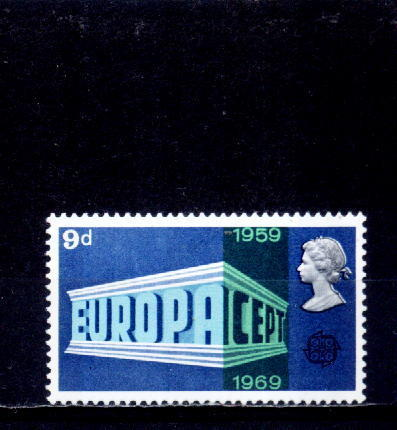 Grande Bretagne 1969 -  Yv.no.562 Neuf** - 1952-.... (Elizabeth II)