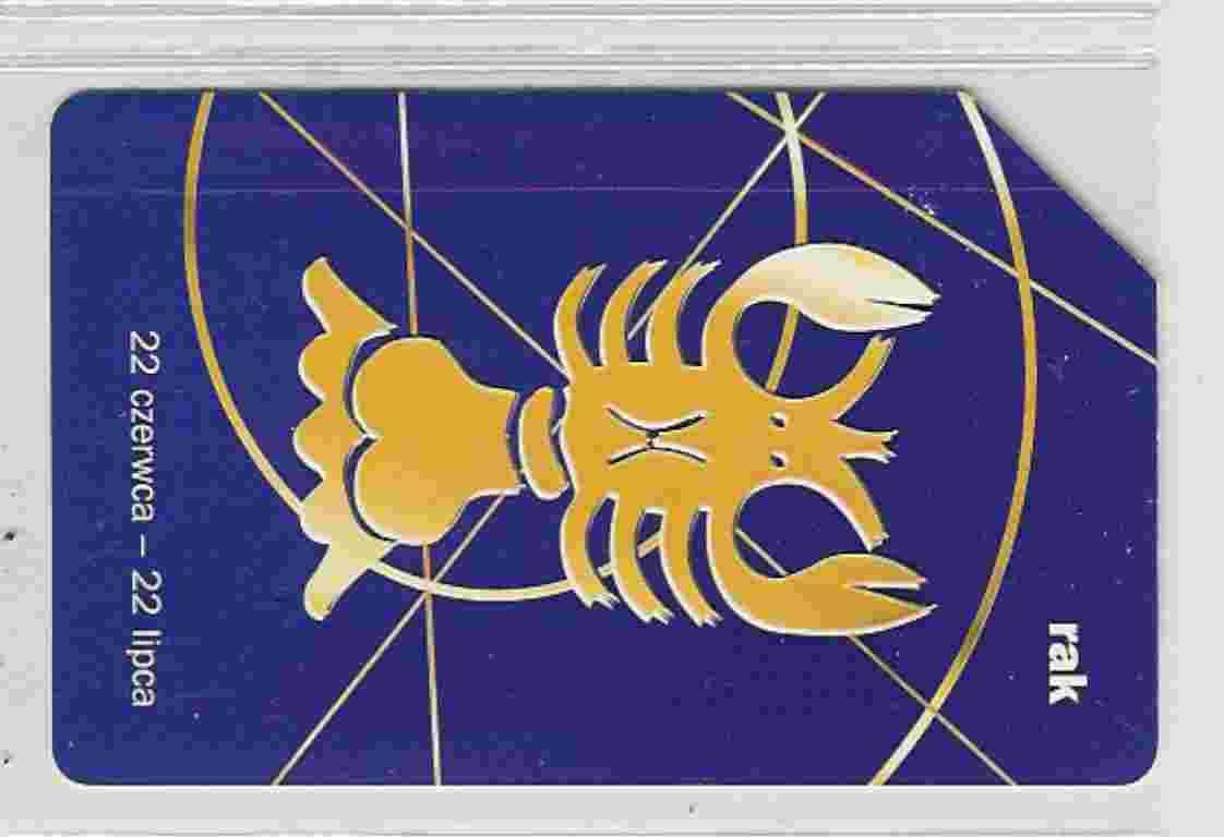 Télécarte POLOGNE (astrologie) - Zodiaco