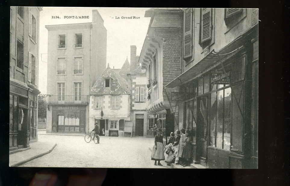 L29.14/07,Pont L´abbé,la Grand' Rue - Pont L'Abbe