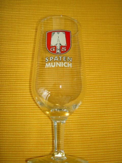 Verre à Bière Sur Pied SPATEN MUNICH - Verres