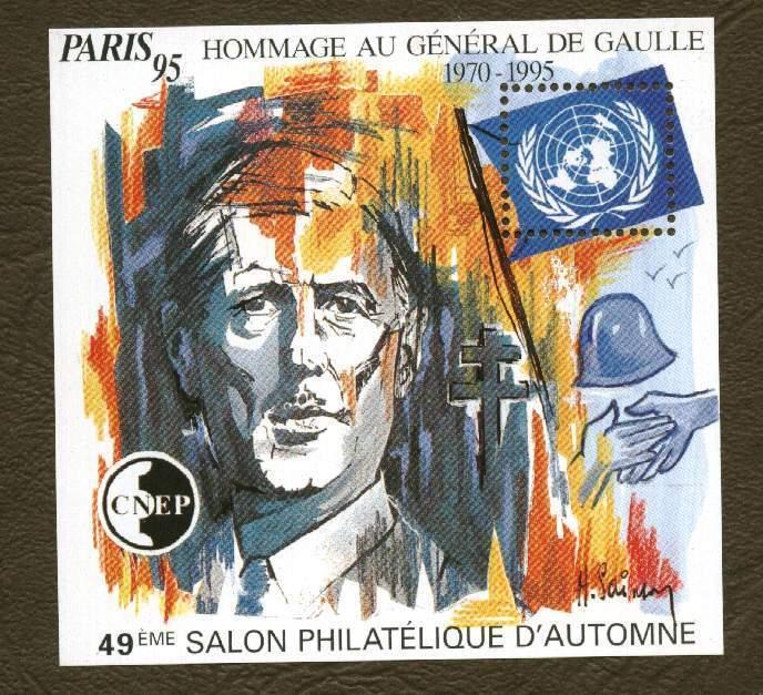 France . Bloc CNEP N° 21 - 49e Salon Philatélique D´ Automne à Paris - CNEP