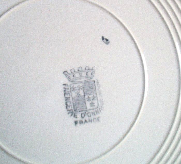 Onnaing - Assiettes - Borden - Plates - AS 979 - Onnaing (FRA)