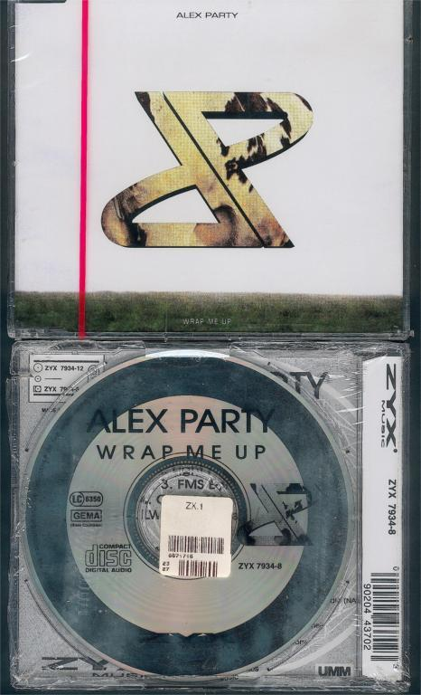 CD-ALEX PARTY - WRAP ME UP - Ohne Zuordnung