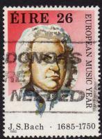 Ireland, Scott # 620  Used J. S. Bach, 1985 - Ireland