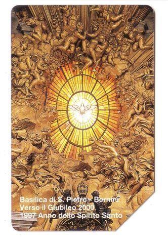 "Vatican SCV 39  ( L.10.000 ) ** "" BASILICA DI S.PIETRO BERNINI ""  ** Tableaux - Religion Painting - Paintings - Vatican"