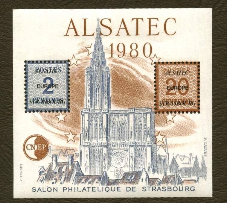 France . Bloc CNEP N° 1 Alsatec - CNEP