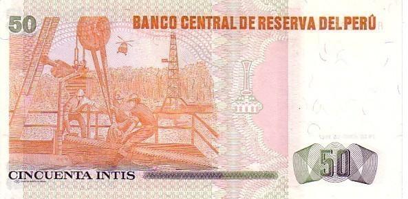 PEROU  50 Intis  Daté Du 26-06-1987   Pick 131b  ****BILLET NEUF**** - Pérou