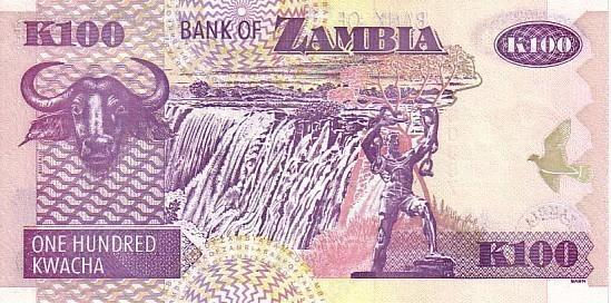 ZAMBIE   100 Kwacha     Emission De 2003     ****** BILLET  NEUF ****** - Zambie