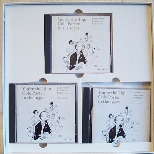 Cole Porter Coffret Luxe 3 CD *in The 30's* - Jazz