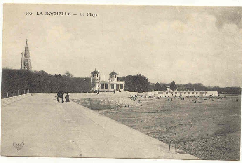 214 La Rochelle, La Plage, N°300. - La Rochelle