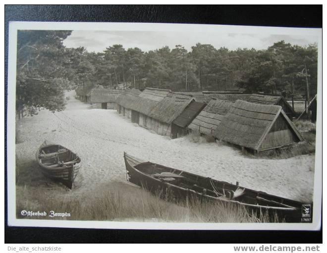 OSTSEEBAD ZEMPIN  // ZINNOWITZ   AK 1935 - Greifswald