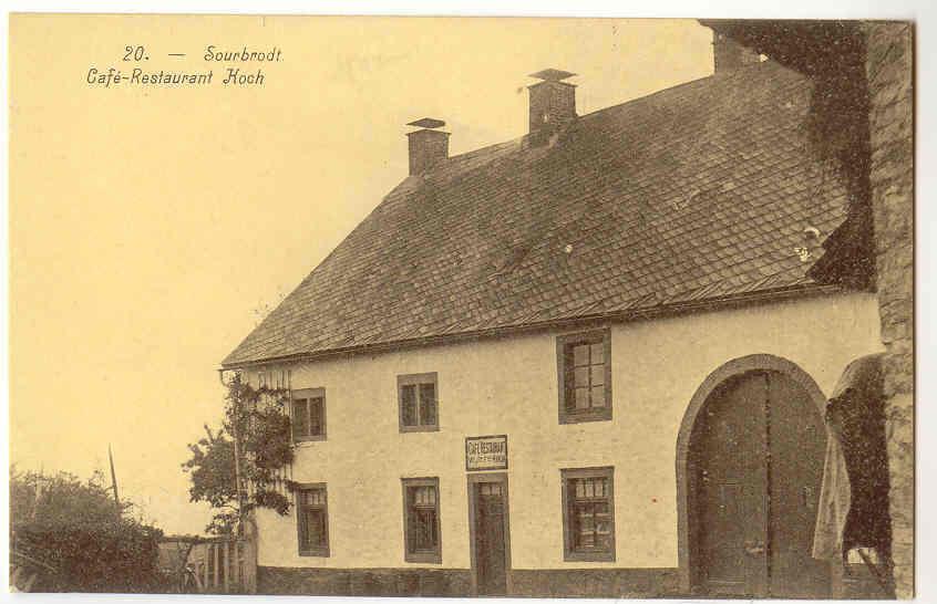 5204 - SOURBRODT - Café-Restaurant KOCH - Waimes - Weismes