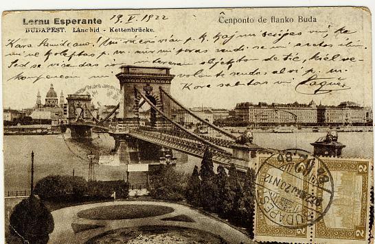 Carte Esperantiste Zamenhof Voyagé De Hongrie A Cuba - Esperanto