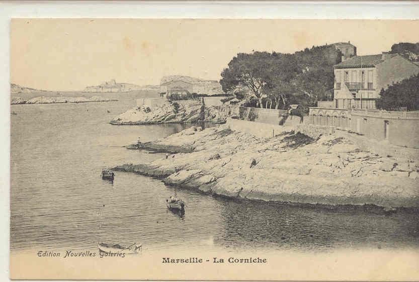 958 Marseille La Corniche. Nouvelles Galeries - Endoume, Roucas, Corniche, Plages