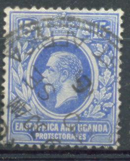 Xd901:East Africa And Uganda Protectorates  : Y.&T.N° 138 - Protectorados De África Oriental Y Uganda