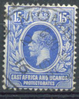 Xd900:East Africa And Uganda Protectorates  : Y.&T.N° 138 - Protectorados De África Oriental Y Uganda