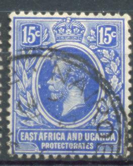 Xd899:East Africa And Uganda Protectorates  : Y.&T.N° 138 - Protectorados De África Oriental Y Uganda
