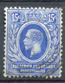 Xd894:East Africa And Uganda Protectorates  : Y.&T.N° 138 - Protectorados De África Oriental Y Uganda