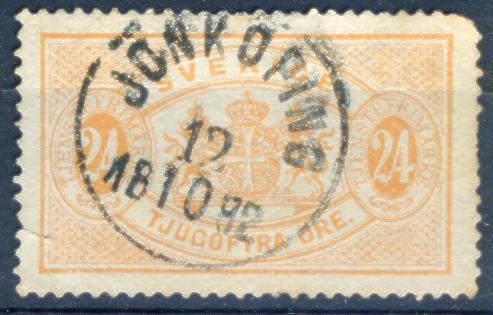 Xd596: ZWEDEN : Y.&T.N° S8 : JONKOPING - Service