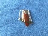 Magnet Hibou En Bois - Neuf, Sous Cellophane - Dimensions: 7 * 11 Cm - Ref A3406 - Magnets