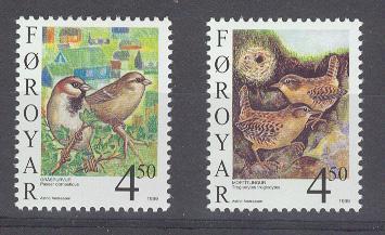 Faroer : Sedentary Birds - Mint - Vogels