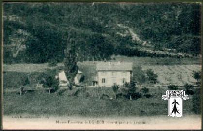 05 Durbon Saint-Julien-en-Beauchêne - Maison Forestière De DURBON (Htes-Alpes), Alt. 1150 M. - Cpa - France