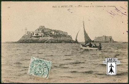 29 Carantec - Rade De MORLAIX - L´Ile Louet Et Le Château Du Taureau - Cpa - Carantec