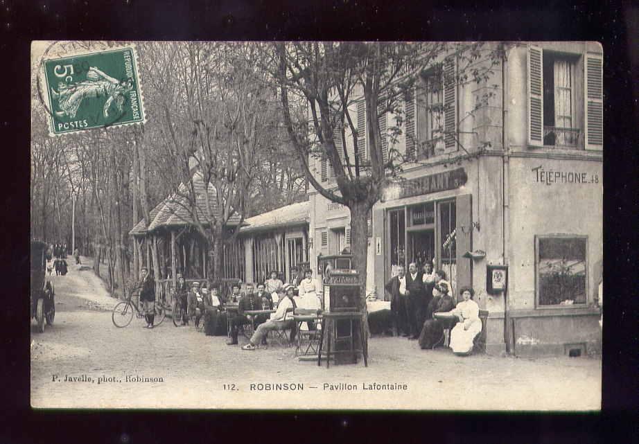 R/19/03 HAUTS DE SEINE, Robinson, Pavillon Lafontaine - Sin Clasificación