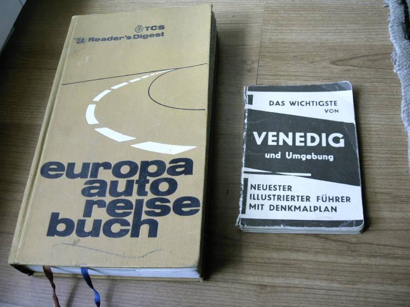 Europa Atlas  1970  Venedig Venise Plan Et Guide Annees 1930 - Encyclopédies
